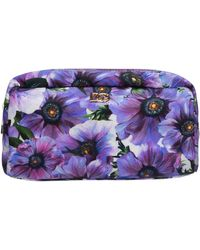 Dolce & Gabbana Women's Travel Makeup Beauty Case - Purple