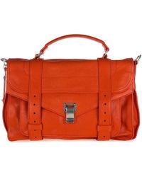 Proenza Schouler - Leather Handbag Shopping Bag Purse Medium Lux - Lyst