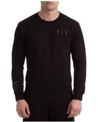 McQ Men's Crew Neck Neckline Sweater Sweater Pullover - Black