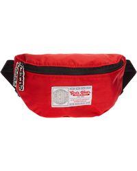 Gcds Men's Belt Bum Bag Hip Pouch - Red