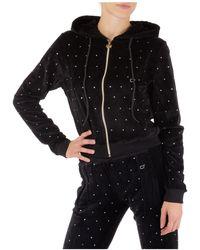 Chiara Ferragni Women's Sweatshirt Zip Up Cf - Black
