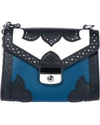 Longchamp - Blue Effrontée Leather Crossbody - Lyst