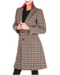 Neil Barrett Cappotto donna in lana - Nero