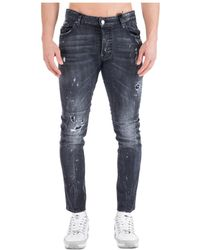 DSquared² - Men's Jeans Denim Tidy Biker - Lyst