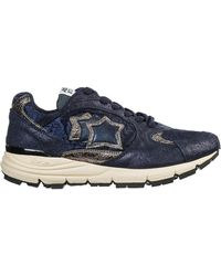 Atlantic Stars Women's Shoes Leather Trainers Trainers Mira - Blue