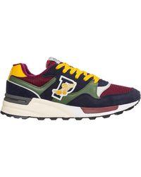 Ralph Lauren Scarpe sneakers uomo camoscio trackster 100 - Multicolore