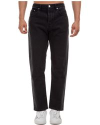 KENZO Men's Jeans Denim - Black