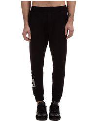 DSquared² Men's Sport Tracksuit Pants Icon - Black
