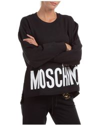 Moschino Women's Sweatshirt - Black