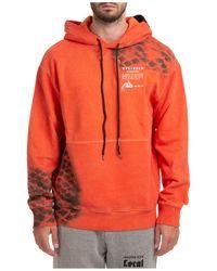 Mauna Kea Hoodie Sweatshirt Sweat - Orange