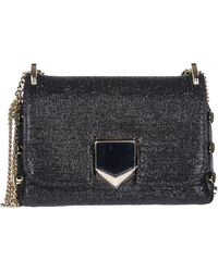 Jimmy Choo Borsa donna a spalla shopping lockett mini - Nero