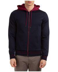 Michael Kors Sweatshirt With Zip Sweat - Blue