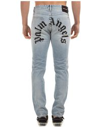 Palm Angels Jeans uomo - Blu