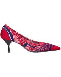 Prada - Women's Pumps Court Heel Shoes - Lyst