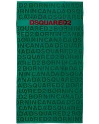 DSquared² Men's Beach Towel - Green