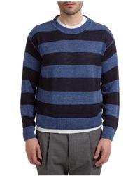Lardini Maglione maglia uomo girocollo - Blu