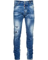 DSquared² Jeans uomo cool guy - Blu