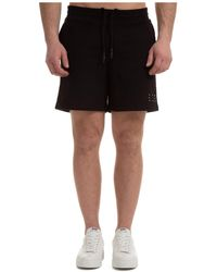 McQ Men's Shorts Bermuda - Black
