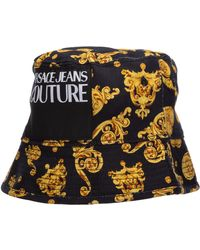Versace Jeans Couture Adjustable Men's Hat Baseball Cap - Black