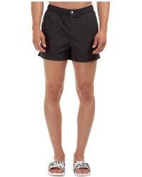 KENZO Men's Boxer Swimsuit Bathing Trunks Swimming Suit - Black