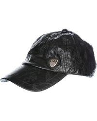 EA7 Adjustable Hat Baseball Cap - Black