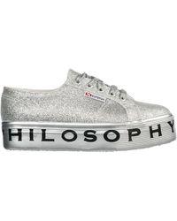 Philosophy Di Lorenzo Serafini Women's Shoes Sneakers Sneakers Superga - Gray