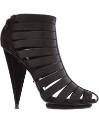 Gucci Women's Heel Sandals Moony Kid - Black