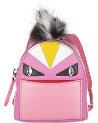 c09a0b5998 Fendi Bag Bugs Backpack Charm in Blue - Lyst