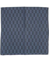 Emporio Armani Men's Pocket Square - Blue