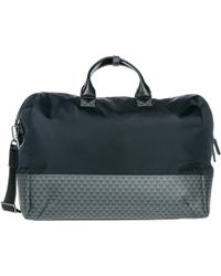 Emporio Armani Travel Duffle Weekend Shoulder Bag - Black