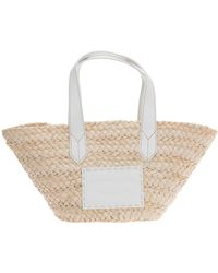 Emporio Armani Women's Handbag Shopping Bag Purse - Natural