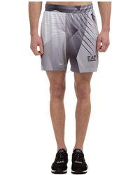 EA7 Men's Shorts Bermuda Ventus 7 - White