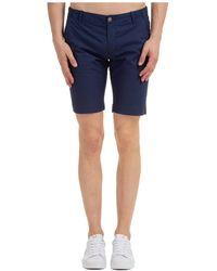 AT.P.CO Shorts Bermuda Nat - Blue