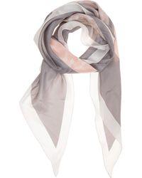 Emporio Armani Foulard donna in seta - Multicolore