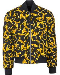 Versace - Outerwear Jacket Blouson Reversibile - Lyst