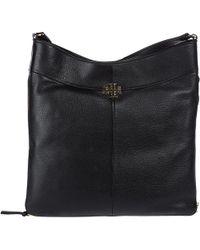 Tory Burch - Leather Shoulder Bag Ivy Hobo - Lyst
