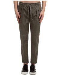 Gabriele Pasini Men's Trousers Trousers Cruise - Green