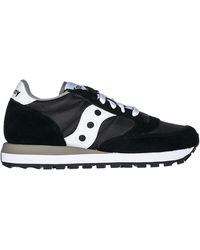 Saucony Women's Shoes Suede Trainers Trainers Jazz - Black
