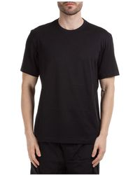 Y-3 T-shirt maglia maniche corte girocollo uomo - Nero