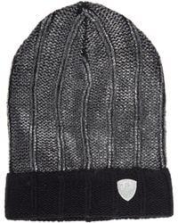 EA7 Women's Beanie Hat Train Fashion - Black