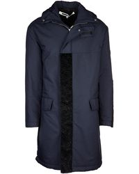 McQ Parka Jacket Outwear Men - Blue