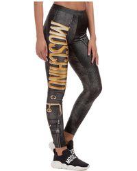 Moschino Women's leggings Biker - Black