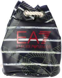 EA7 - Rucksack Backpack Travel Beach Allover - Lyst