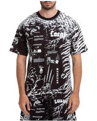 Mauna Kea Short Sleeve T-shirt Crew Neckline Jumper - Black