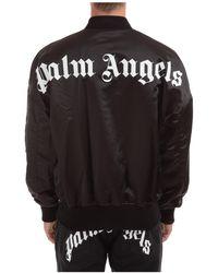 Palm Angels Men's Outerwear Jacket Blouson - Black