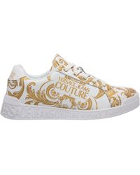 Versace Jeans Couture Women's Shoes Leather Sneakers Sneakers Baroque - Multicolour
