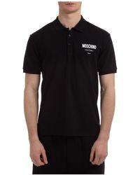 Moschino Polo t-shirt maglia maniche corte uomo - Nero