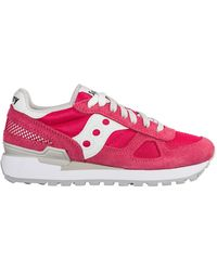 Saucony Women's Shoes Suede Trainers Trainers Jazz O - Pink