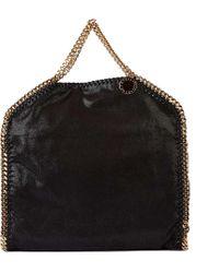 Stella McCartney - Handbag Shopping Bag Purse Falabella Fold Over Shaggy Deer - Lyst