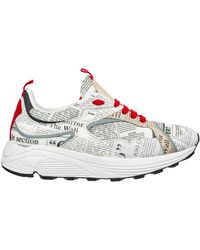 John Galliano Men's Shoes Leather Sneakers Sneakers - Multicolor